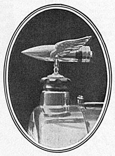 Car mascot Lloyd George copy