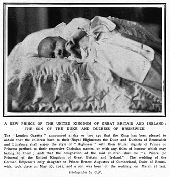 Royal war babies ernst august report