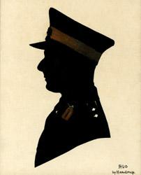 Oakley portrait of him uniform