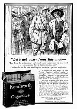 Smokes kenilworth ad