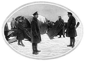 Nissen photo in snow