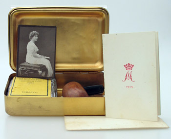 Princess mary xmas tin object