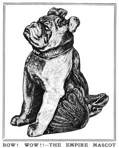 Fumsup empire mascot