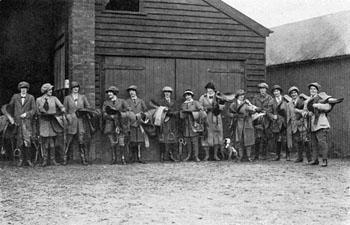 Aldin group of army remount girls photo