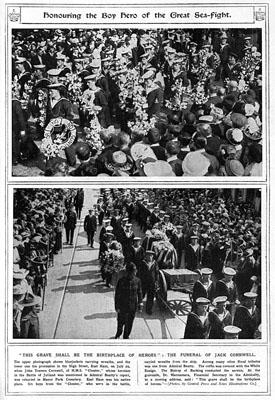 Jack cornwell - funeral 2