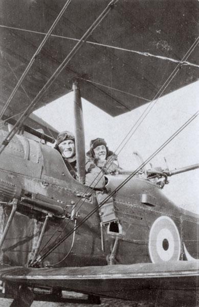 Aubrey 15 aircraft pilots