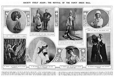 Fancy dress victory ball