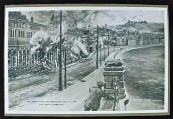 Bombardment scarborough sea front illus