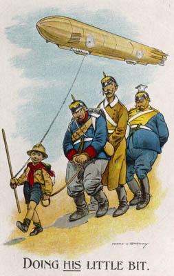 Harold earnshaw ww1 boy scout postcard