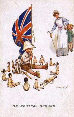 Harold earnshaw ww1 flag